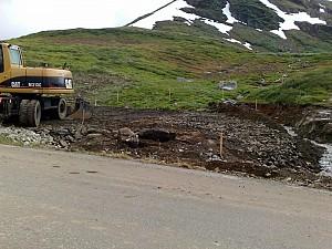 FV 243 Aurland-Lærdal, utsiktspunkt Vedahaugane