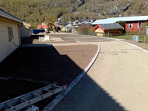 Årdal Kommune. Vernabustader, tomtearbeider